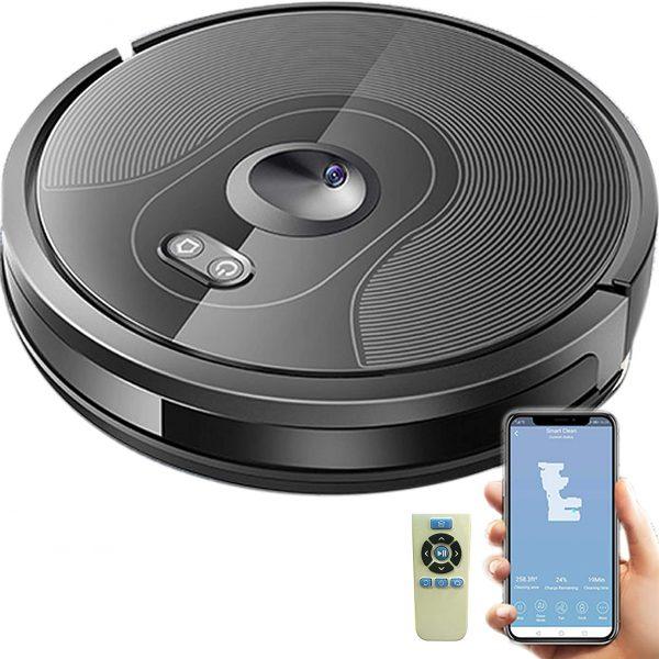 DynaSun Home X610 Robot Lava y Vacío inteligente con función de limpieza