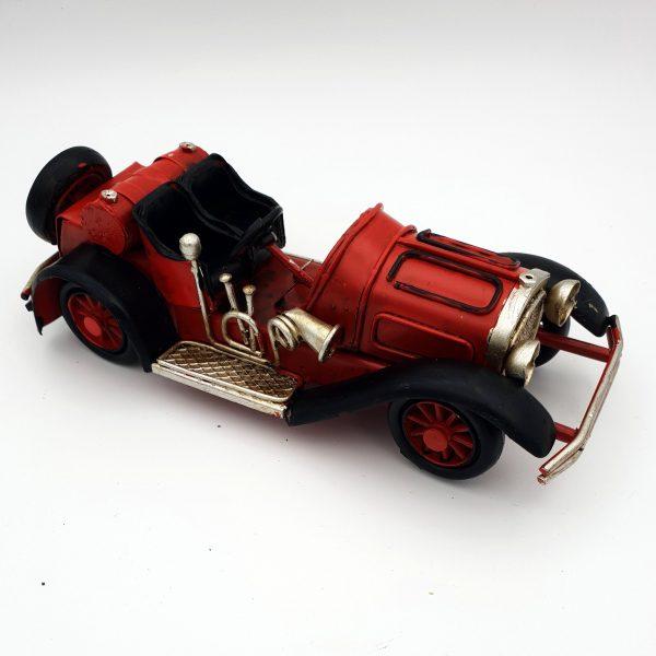 DynaSun Art Modellino Auto d'Epoca Vintage in Metallo, Stile Retro Antico Scala 1:32 16 cm
