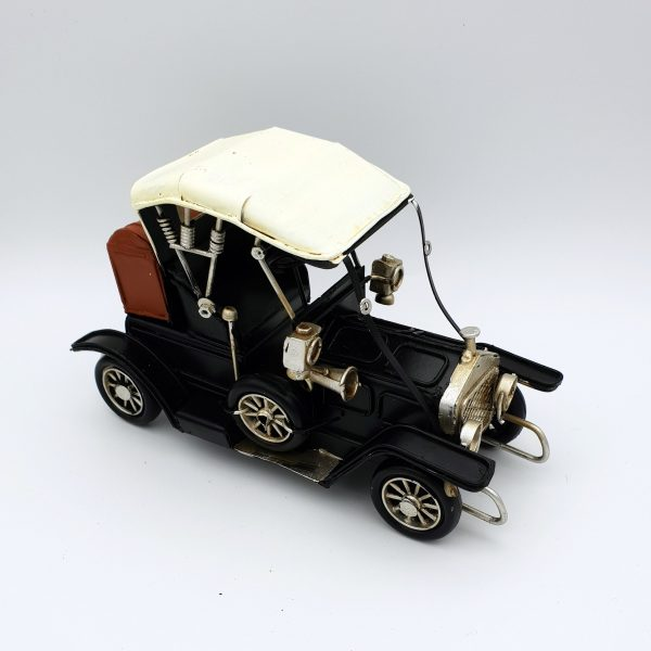 DynaSun Art Modellino Auto d'Epoca Vintage in Metallo,Stile Retro Antico Scala 1:32 16 cm