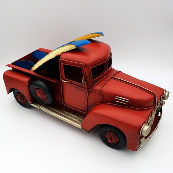 DynaSun Art Modellino Camion PickUp d'Epoca Vintage Metallo,Stile Retro Antico 1:20 25 cm