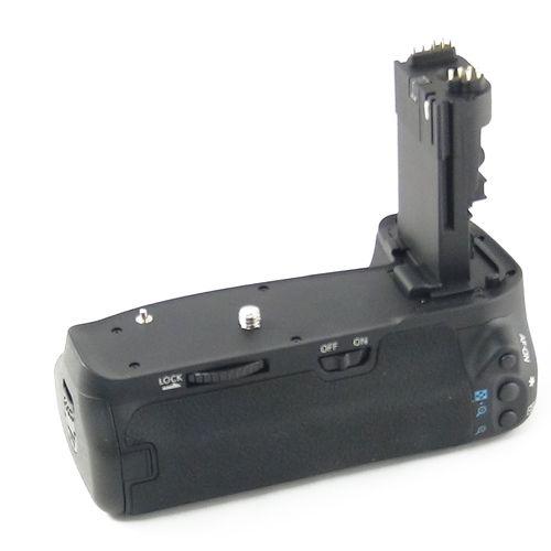DynaSun E9 Impugnatura Battery Grip Professionale per Canon EOS 60D BG-E9, Slot Batterie AA, Nero