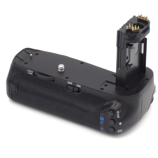 DynaSun E16 Impugnatura Battery Grip per Canon EOS 7D MARK II compat. BG E16 BGE16 slot 6x Batterie