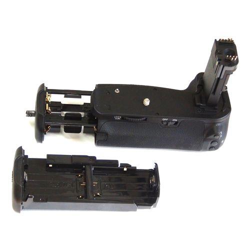 DynaSun E13 Impugnatura Battery Grip Professionale per Canon EOS 6D, Compatibile BG E13 con Alloggiamento Speciale per 6 Batterie Stilo AA, Nero