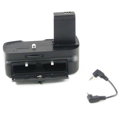 DynaSun E10 Impugnatura Battery Grip Professionale per Canon 1100D Compatibile BG-E10, Nero