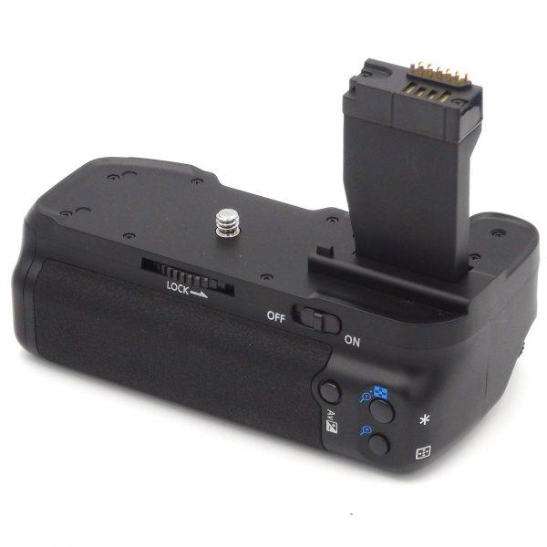 DynaSun E18 Impugnatura Battery Grip Professionale per Canon 750D 760D T6i T6s X8i 8000D compatibile BG E18 BGE18
