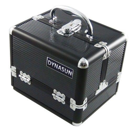 DynaSun Bs35 Set Beauty Case Make Up Nail Art, Nero