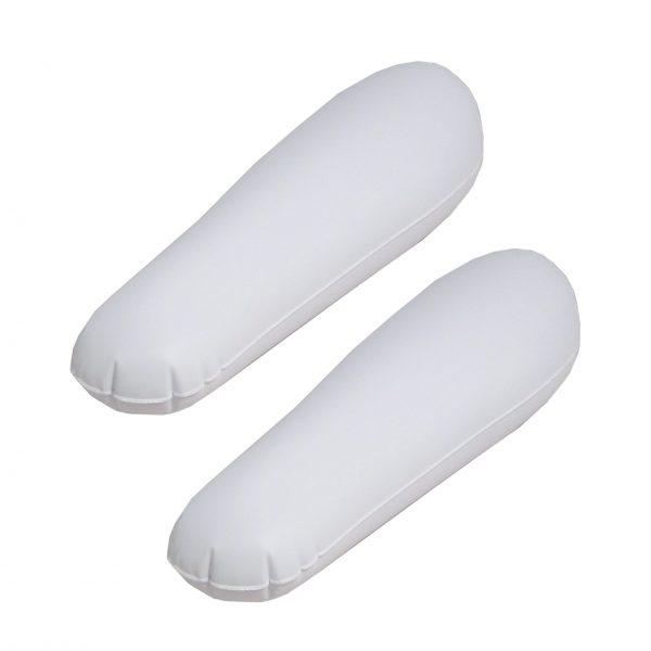 DynaSun BSI Bianco 30cm 2-Way Tendistivali gonfiabile Elegante e di Forma Anatomica Tendi stivali per Uomo e Donna