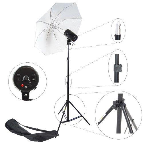 DynaSun CY100KIT 100 W Kit Flash Compatto da Studio Professionale