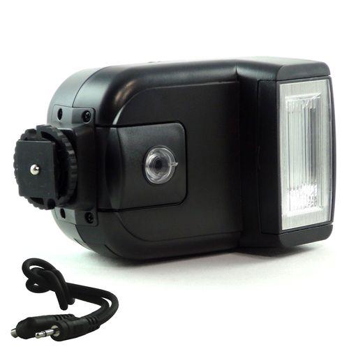 DynaSun CY20 5600 K Flash a Slitta Portatile Compatto Universale con Testa Orientabile e Zoccolo Hot Shoe Standard