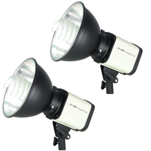 DynaSun 2X CY25W 300 W Kit Illuminatore da Studio Lampada Daylight