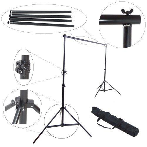 DynaSun FS901 Kit Portatile Supporto Fondale Portafondali Professionale per Fondale Background
