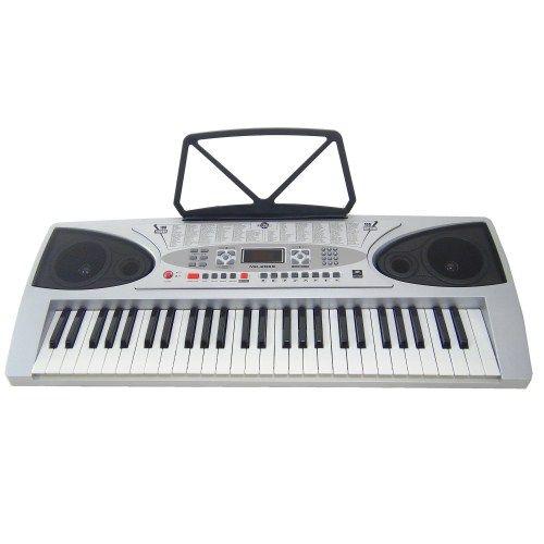 Tastiera Elettronica Keyboard MK2069 54 Tasti con Tasti Illuminati