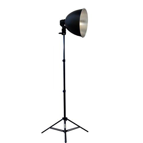 DynaSun Kit S27Kit Illuminatore da Studio Professionale Completo di Supporto Cavalletto Stativo, Portalampada, Riflettore per Foto e Video