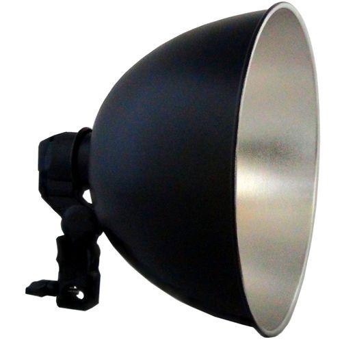 DynaSun Kit S27Set Illuminatore Compatto da Studio Professionale Completo di Supporto Portalampada, Riflettore per Studio Foto e Video
