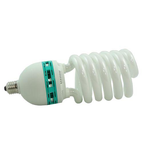 DynaSun SYD125W 600 W E27 Illuminatore Lampada da Studio Professionale, Daylight Luce Fluorescente a Risparmio Energetico