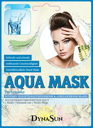 DynaSun Maschera Aqua Hydra BTS con Estratto di Aloe Vera e Imperata Cylindrica Intensiva Idratante e Compensativa Kpop per Pelle Disidratata